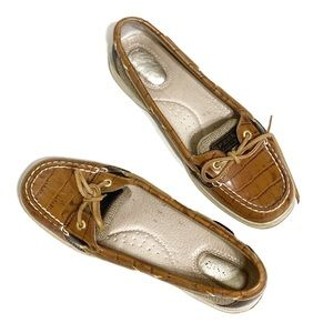 Sperry's Top-Sider Leather Brown Shoes